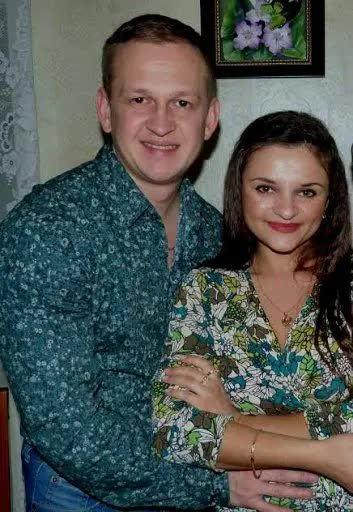 Danil Kucherko and his fiancé (also deceased)